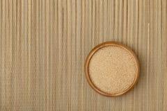 Tazón de fuente de grano del amaranto Imágenes de archivo libres de regalías