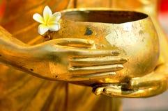 Tazón de fuente de las limosnas del monje Imagen de archivo libre de regalías