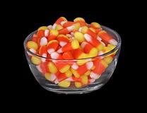 Tazón de fuente de maíz de caramelo Foto de archivo