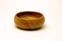 Tazón de fuente de madera Imagenes de archivo
