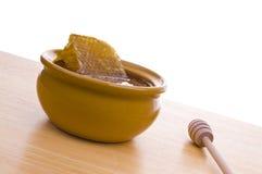 Tazón de fuente de miel Imagen de archivo