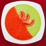Tazón de fuente de sopa vegetal Fotos de archivo libres de regalías