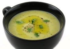 Tazón de fuente de sopa vegetal Fotografía de archivo libre de regalías
