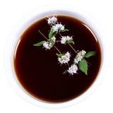 Tazón de fuente de té Foto de archivo libre de regalías