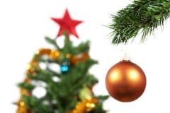 Tazón de fuente del Año Nuevo, y la estrella. Imagenes de archivo