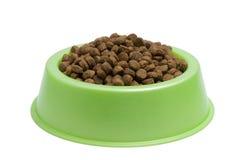 Tazón de fuente del alimento de animal doméstico Imágenes de archivo libres de regalías