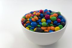 Tazón de fuente del caramelo Fotos de archivo libres de regalías
