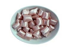 Tazón de fuente del caramelo famoso turco   Foto de archivo