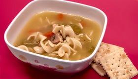 Tazón de fuente del niño de sopa Foto de archivo libre de regalías
