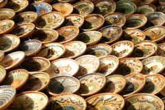 Tazón de fuente hecho a mano de Maramures. Imagenes de archivo