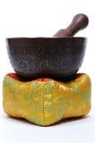 Tazón de fuente tibetano del canto Foto de archivo libre de regalías