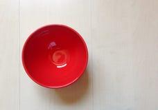 Tazón de fuente vacío Imagen de archivo libre de regalías