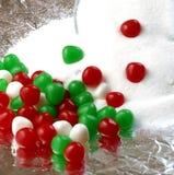 Tazón de fuente y caramelo de azúcar imagenes de archivo