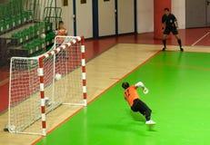 Taza 2008-2009 de la UEFA Futsal Fotografía de archivo
