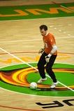 Taza 2008-2009 de la UEFA Futsal Imagen de archivo