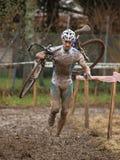 Taza 2008-2009 de mundo de Cyclocross Imagenes de archivo