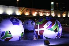 Taza 2010 de mundo del fútbol de la FIFA Fotografía de archivo libre de regalías