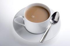 Taza aislada de té inglés imagen de archivo libre de regalías