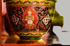 Taza antigua (cultura de Tailandia) Fotos de archivo