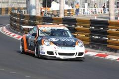 Taza Asia - A de calificación de Porsche Carrera Fotos de archivo