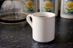 Taza blanca 3 Foto de archivo libre de regalías