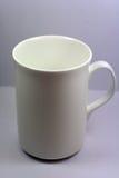 Taza blanca Imagenes de archivo