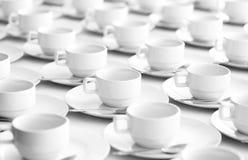 Taza blanca Fotos de archivo libres de regalías