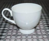 Taza blanca Foto de archivo libre de regalías