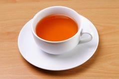 Taza blanca de té Fotos de archivo