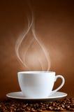 Taza caliente de ciffee Imagen de archivo