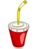 Taza casera de la cocina de la historieta stock de ilustración