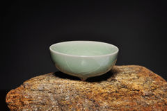 Taza china de la porcelana imagen de archivo