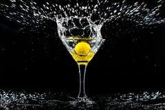 Taza con agua Fotografía de archivo