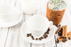 Taza con café Imagen de archivo