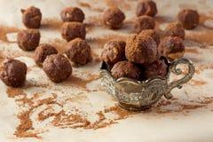 Taza con los caramelos artesanales Imagen de archivo