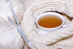 Taza de bebida caliente Imagen de archivo libre de regalías