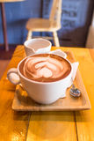 Taza de cacao Fotografía de archivo