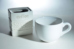 Taza de café Fotos de archivo libres de regalías