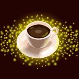 Taza de café Stock de ilustración