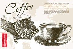 Taza de café Fotografía de archivo
