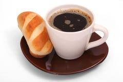 Taza de café aislada fotografía de archivo