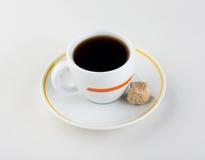 Taza de café. azúcar Fotos de archivo libres de regalías