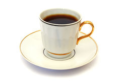 Taza de café blanca Imagen de archivo
