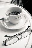 Taza de café caliente Imagenes de archivo