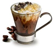 Taza de café caliente imágenes de archivo libres de regalías
