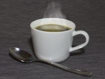 Taza de café caliente Fotografía de archivo libre de regalías