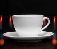 Taza de café con humo Imagen de archivo