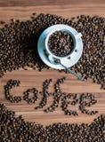 Taza de café de cerámica Imagen de archivo libre de regalías