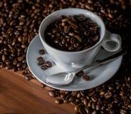 Taza de café de cerámica Foto de archivo libre de regalías
