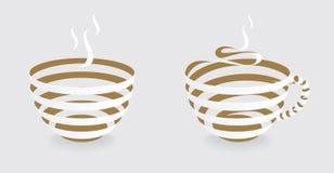 TAZA de café de la CINTA Imagen de archivo